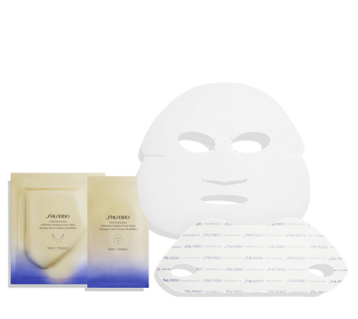 Mascarilla antiflacidez Liftdefine Radiance Mask Vital Perfection de Shiseido.