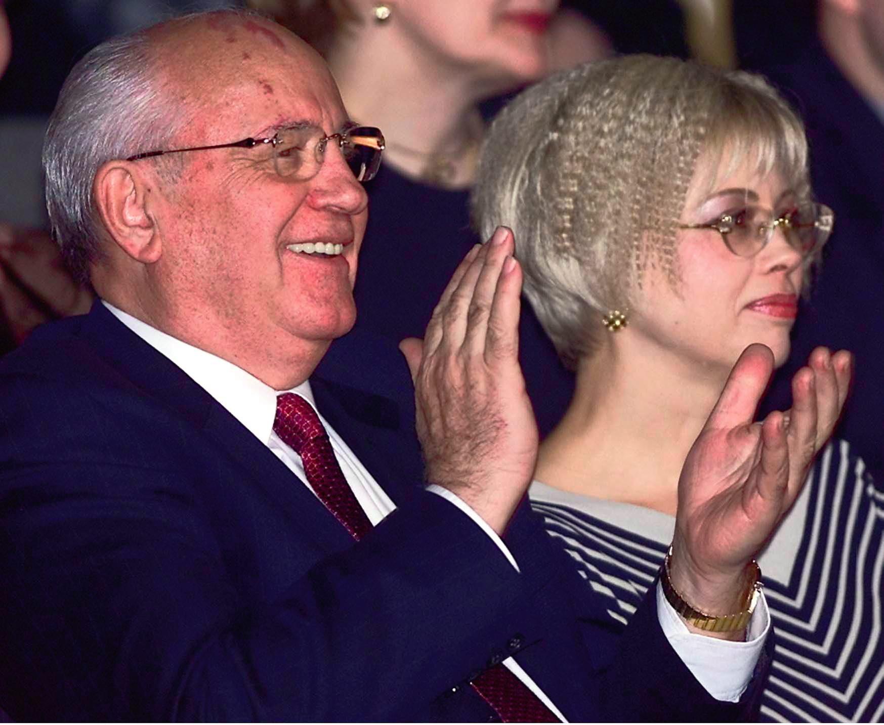 Con su hija Irina, que reside en Alemania.