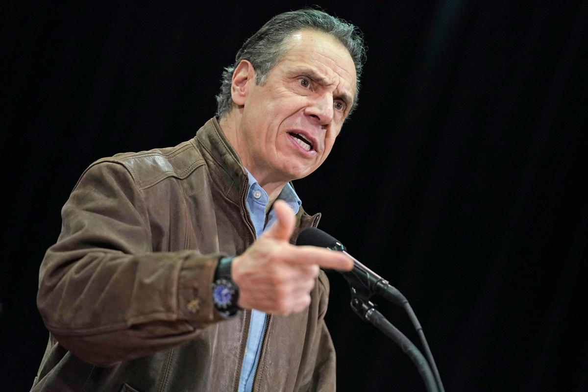 El gobernador de Nueva York, Andrew Cuomo.