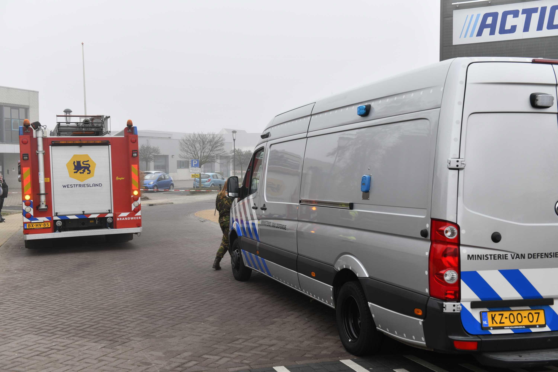Lugar de la explosión este miércoles en Bovenkarspel.