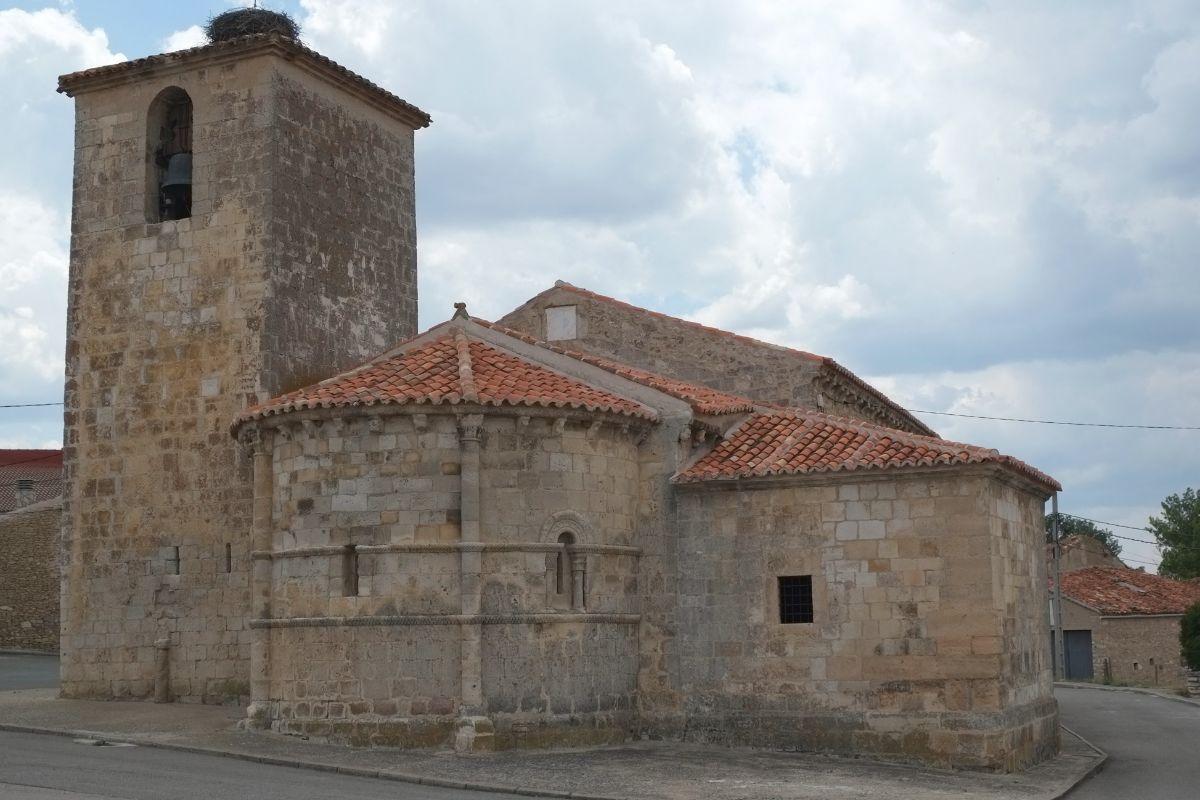 La iglesia de San Bartolomé.