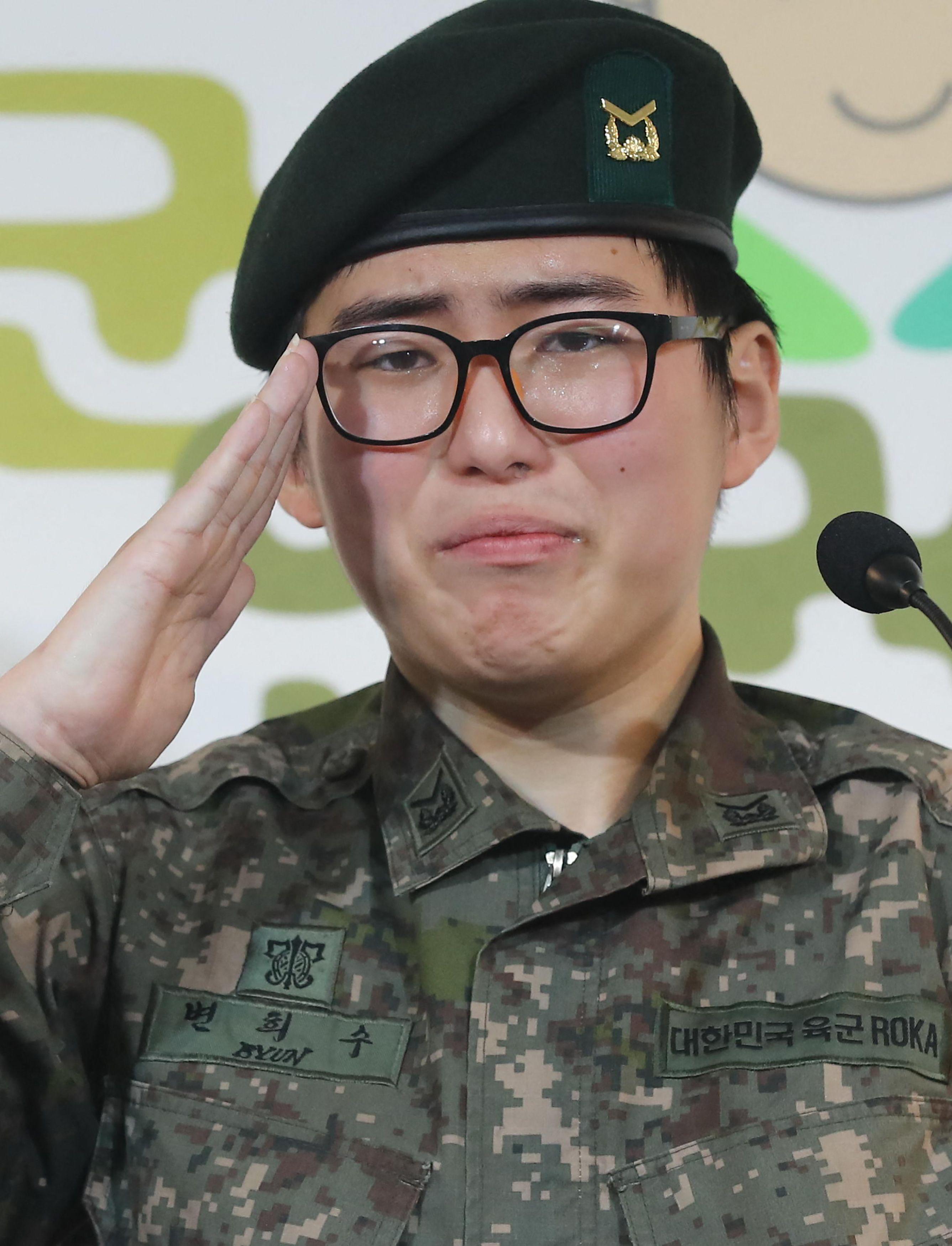 La ex militar surcoreana Byun Hee-soo.