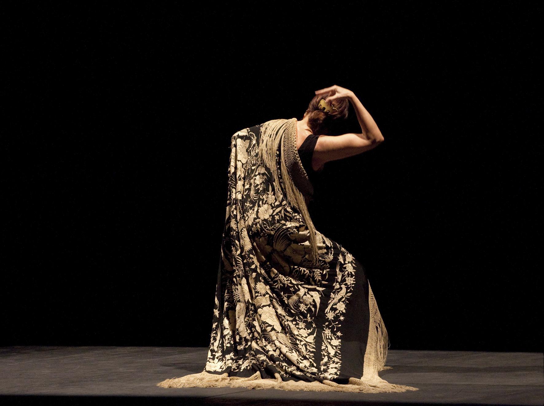 Imagen de un espectáculo de flamenco en Corral de la Morería