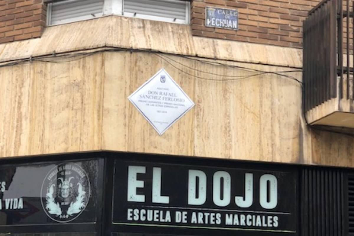 Aquí vivió Rafael Sánchez Ferlosio