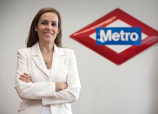 Silvia Roldán, CEO de Metro Madrid.