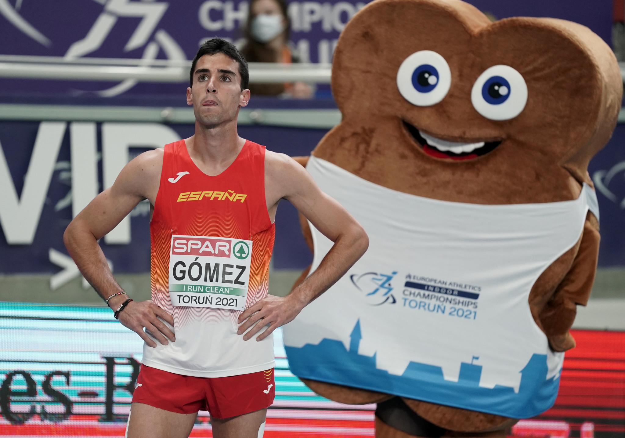 Jesús Gómez, esta noche.