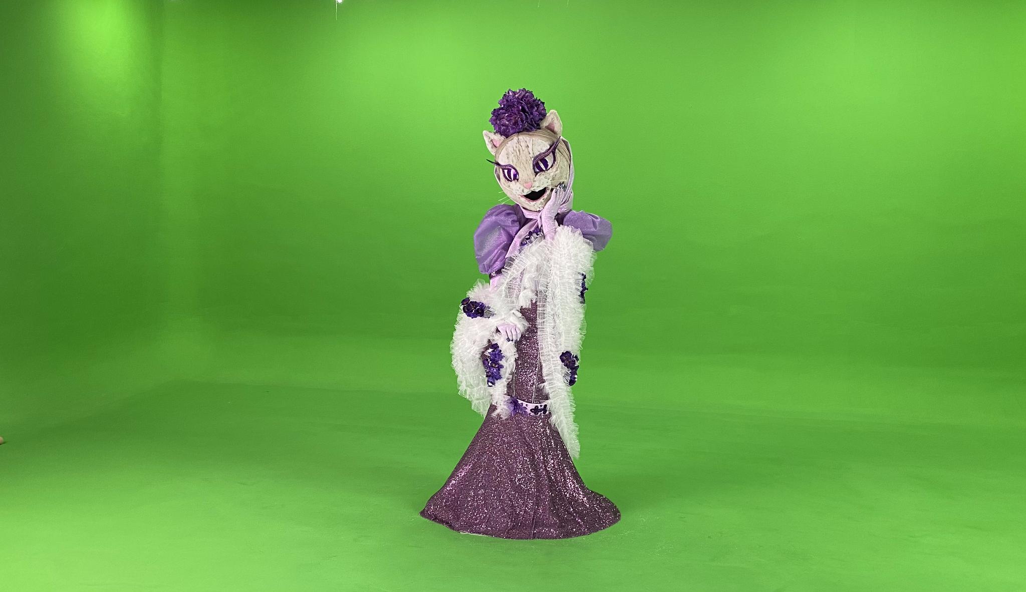 Una de las máscaras de la segunda temporada de Masksinger