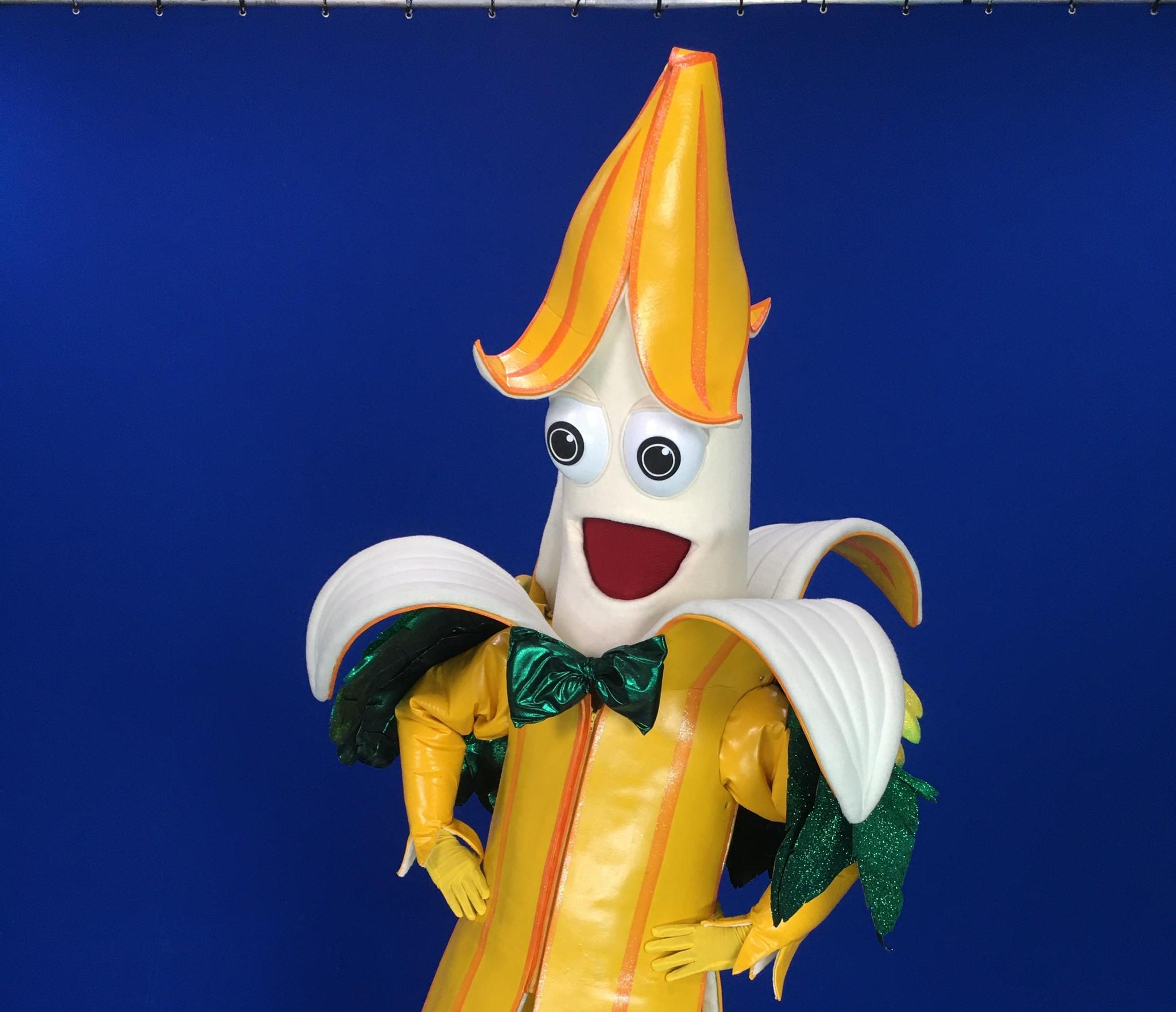 La máscara del plátano de Masksinger