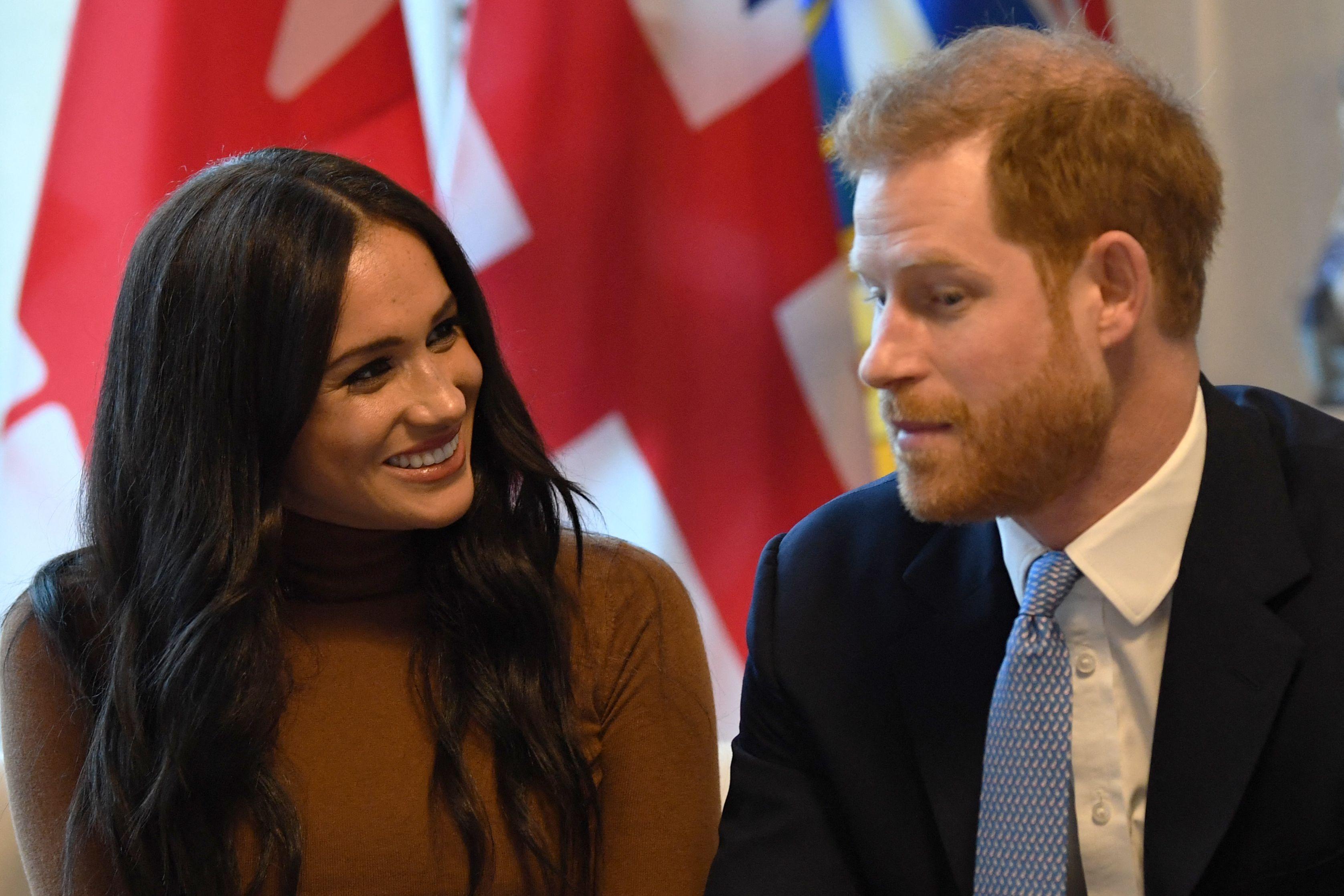Harry y Meghan en Canadá