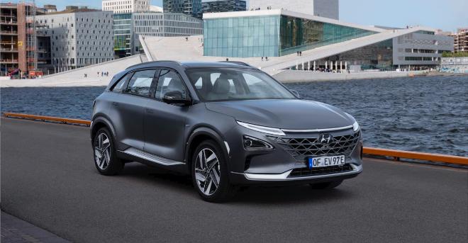 El Hyundai Nexo tiene una autonomía de casi 700 kilómetros