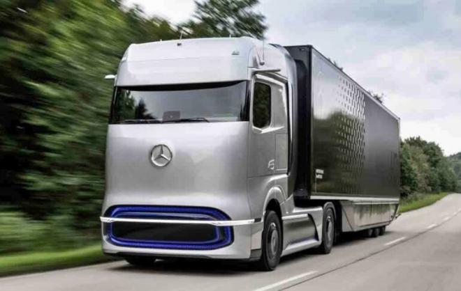 Prototipo Mercedes-Benz GneH2 con 1.000 kilometros de autonomía