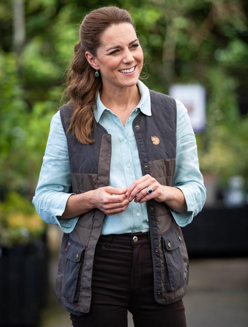 Chaleco acolchado Kate Middleton chaleco mujer Zara
