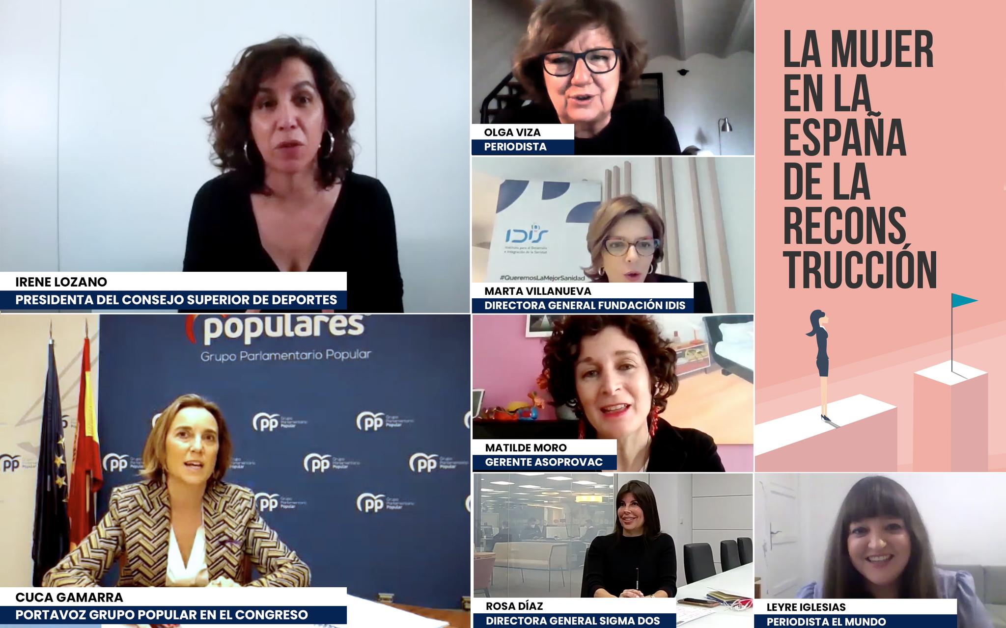 Encuentro digital moderado por la periodista Leyre Iglesias