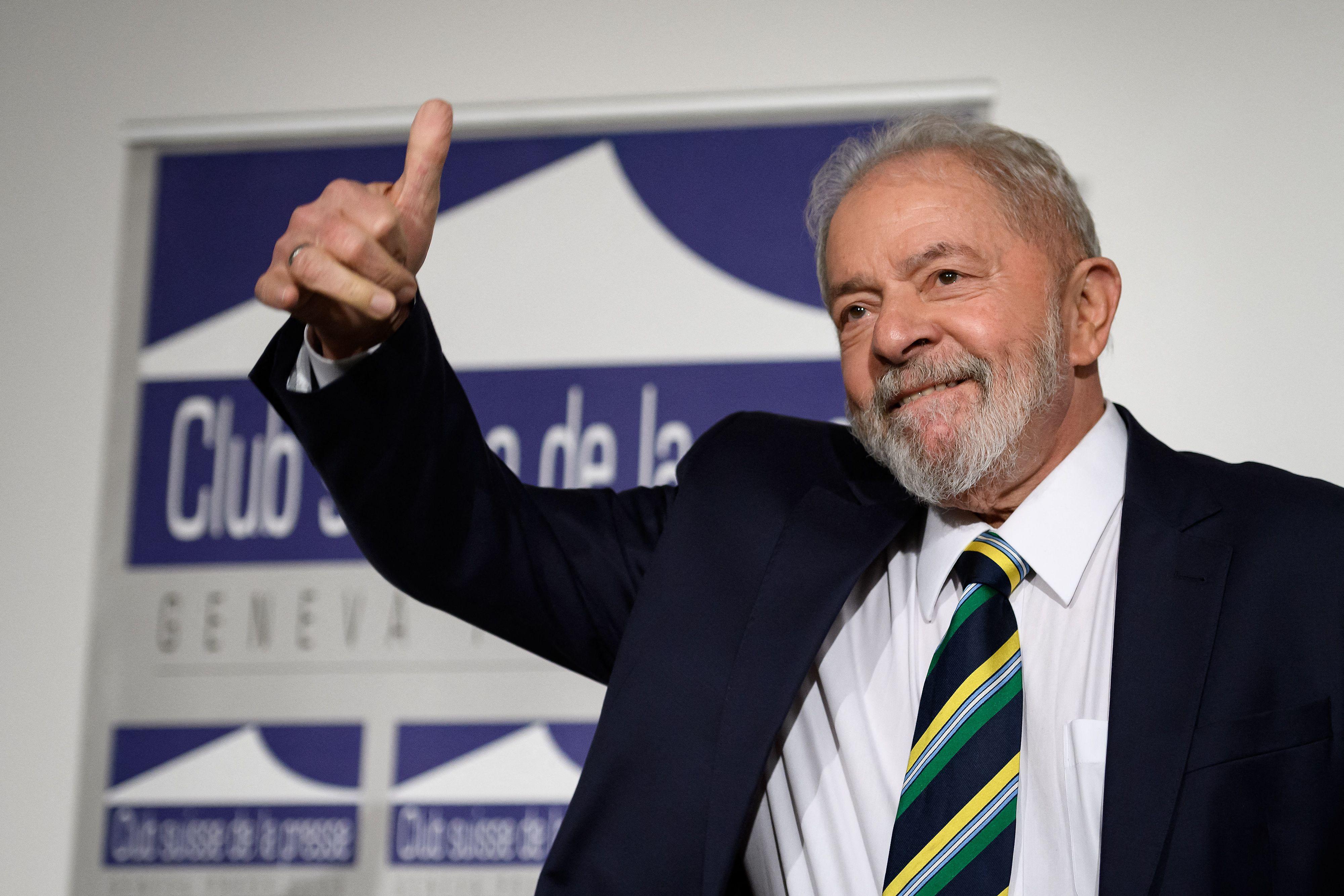 El ex presidente de Brasil Inácio Lula da Silva.