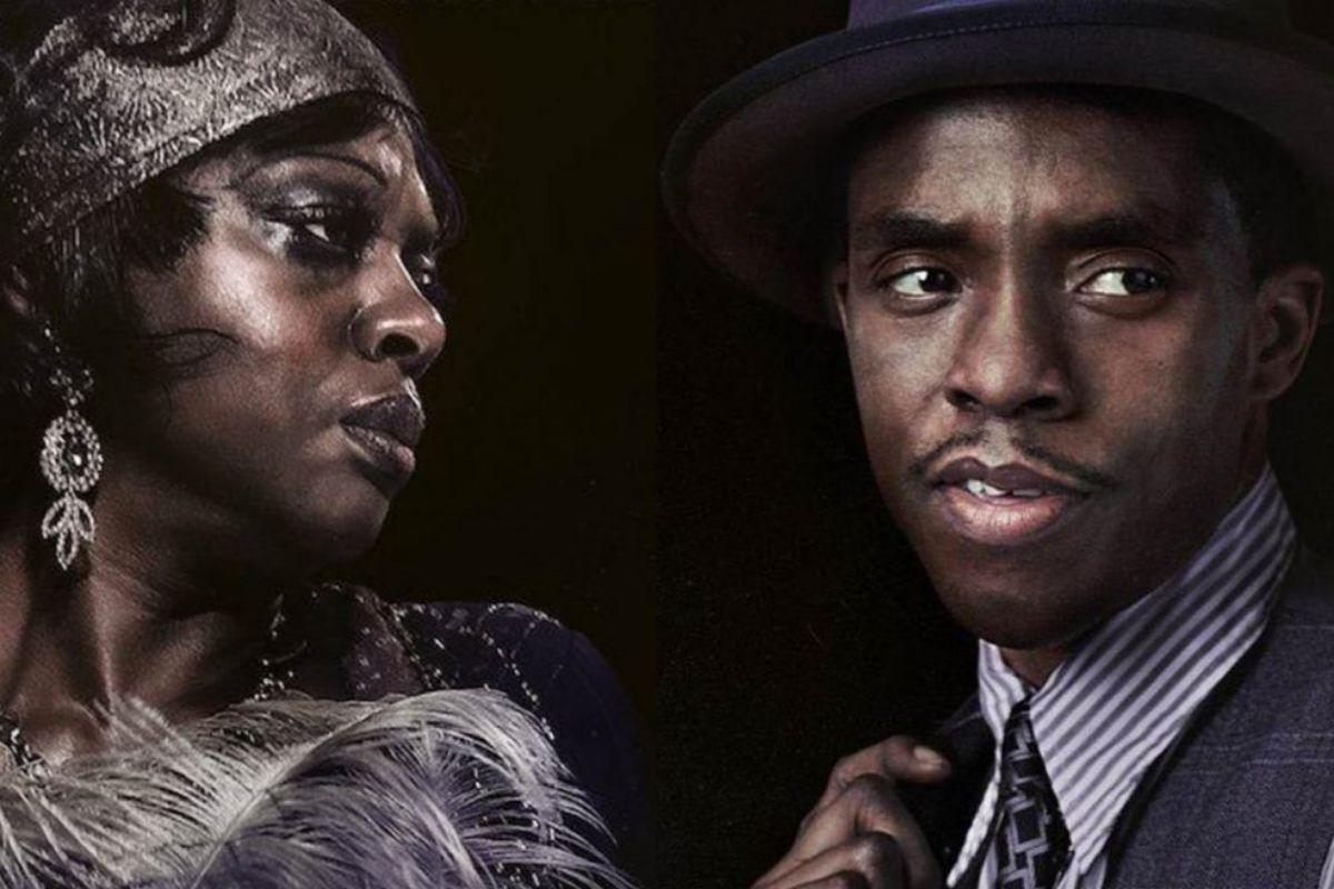 Boseman y Viola Davis.