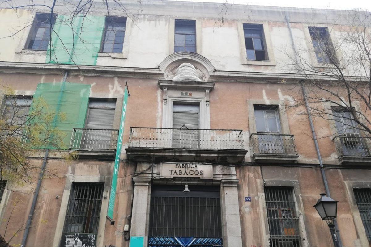 El edificio de Tabacalera