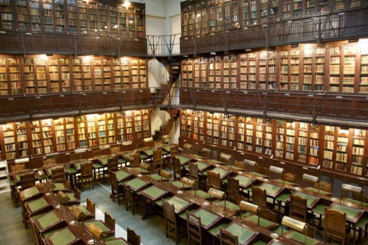 Biblioteca del Ateneo de Madrid.
