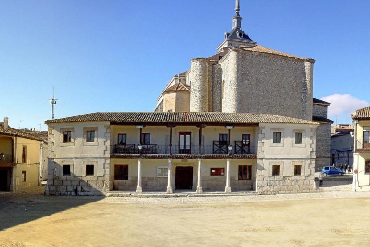 Plaza Mayor de Colmenar de Oreja.