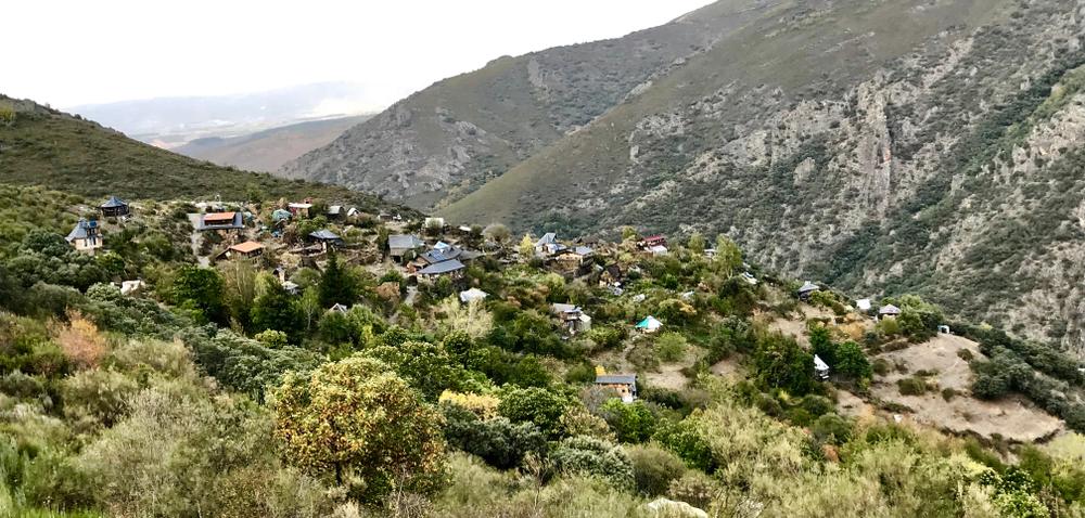 La aldea leonesa.