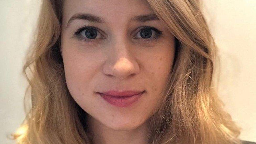 La joven desaparecida en Londres Sarah Everard.