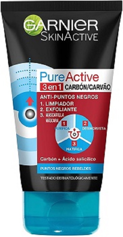 Skin Active de Garnier.
