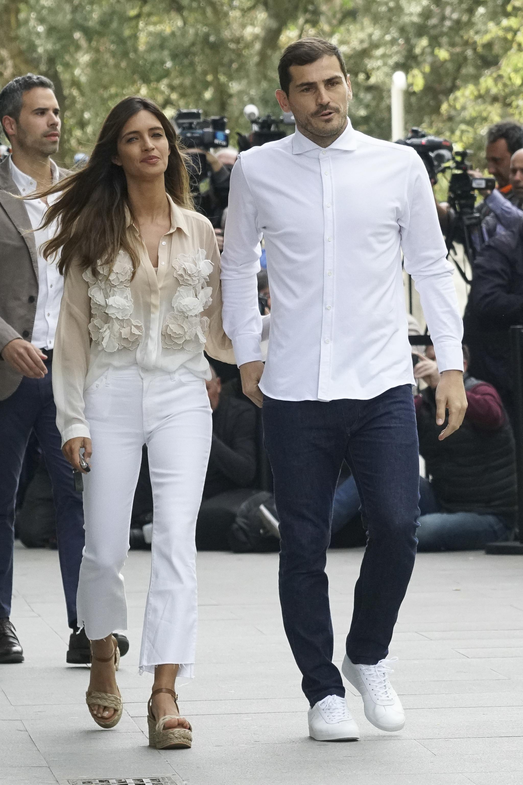 Iker Casillas y Sara Carbonero anunciaron anoche su separación.