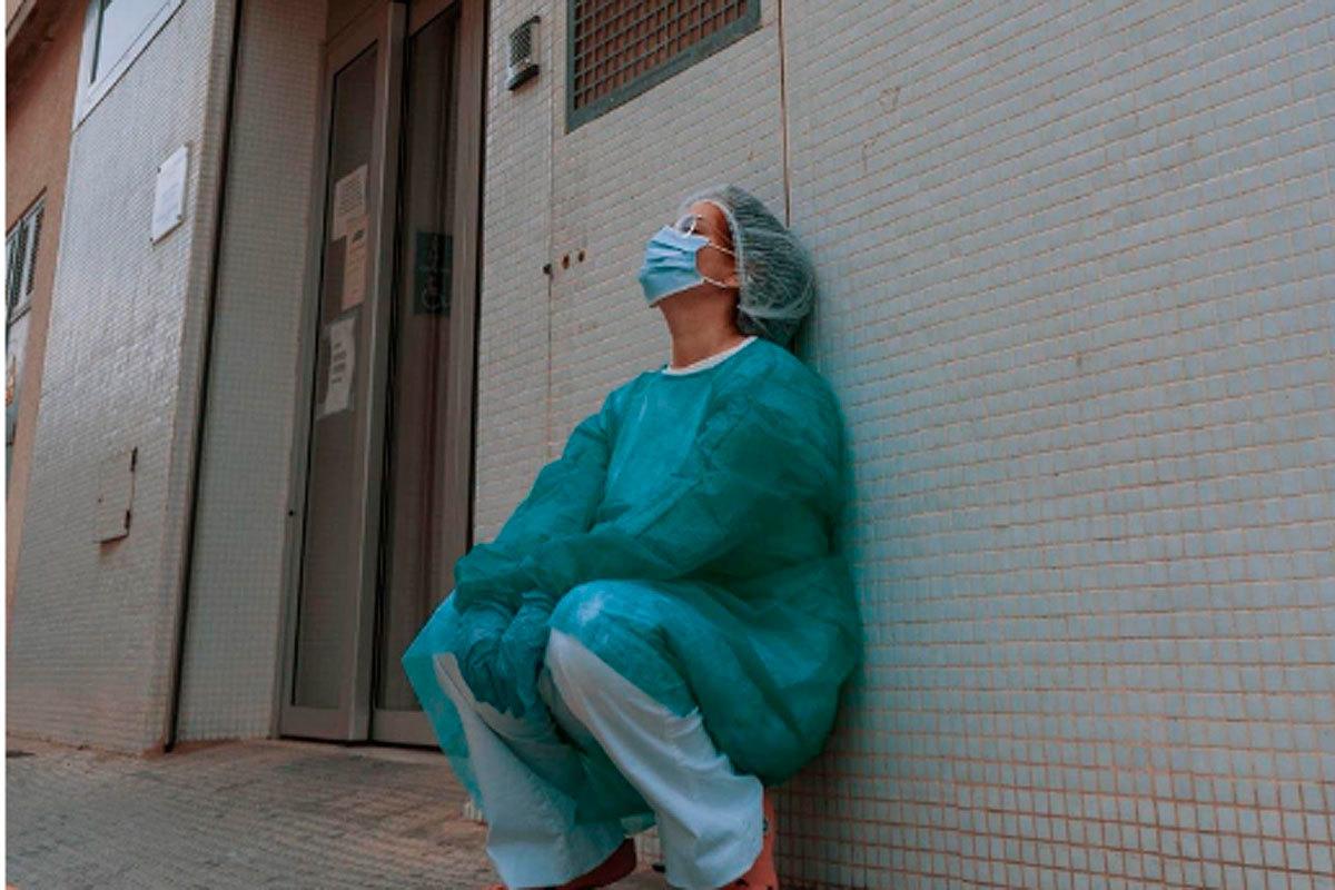 La joven enfermera.