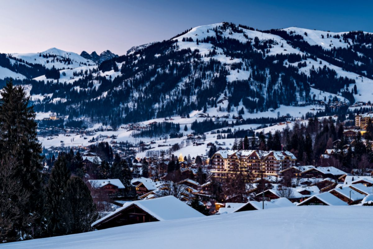 Gstaad.