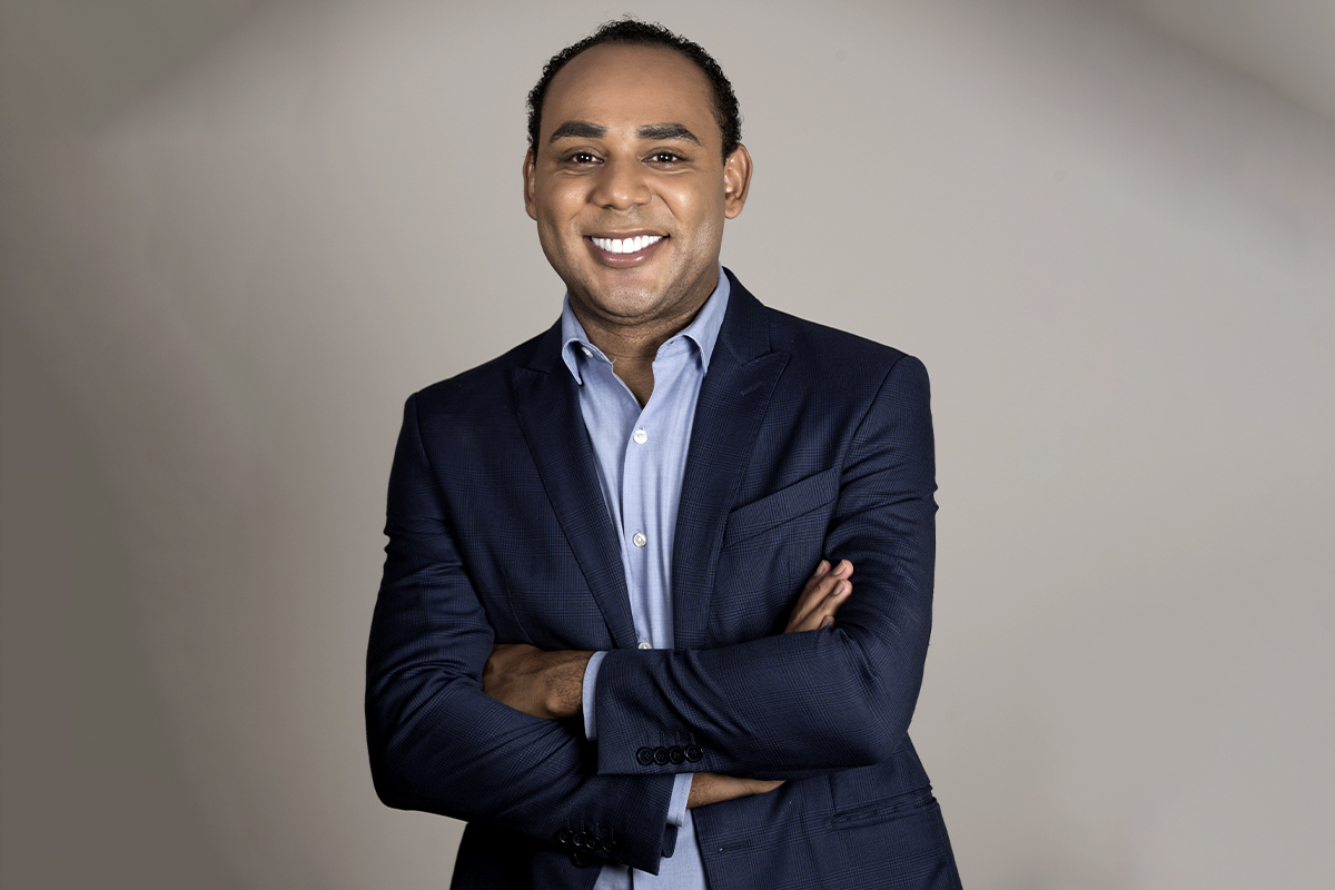 Gilson Rodrigues es el presidente de la Unión de Vecinos y Comercio de esta favela.