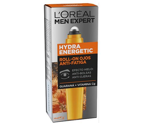Regalos para el Día del Padre: contorno de ojos Men Expert Hydra Energetic Roll-On de L'Oreal Paris en Amazon.