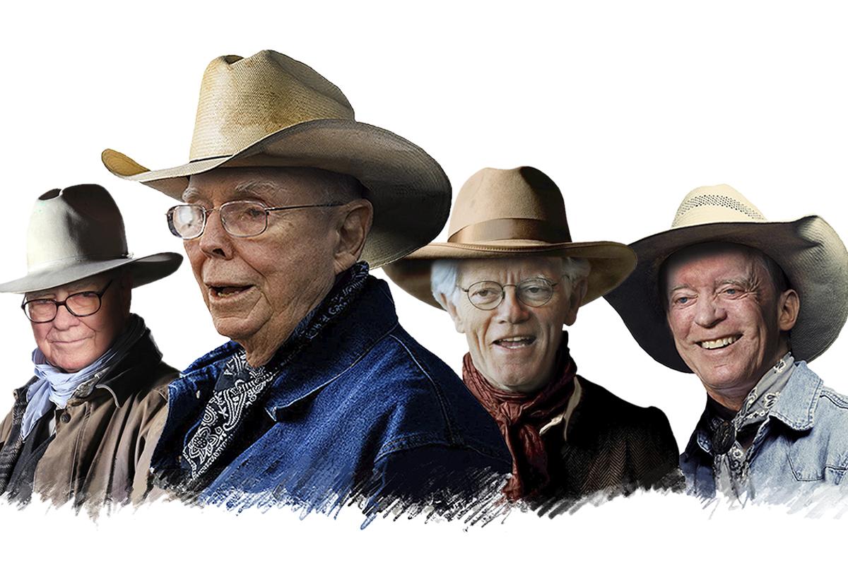 Los viejos cowboys cabalgan de nuevo