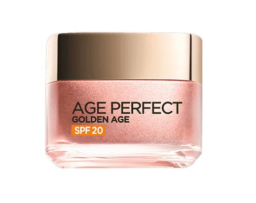 Cremas antiedad antioxidantes que hidratan mucho: Age Perfect Golden Age de L'Oréal Paris.