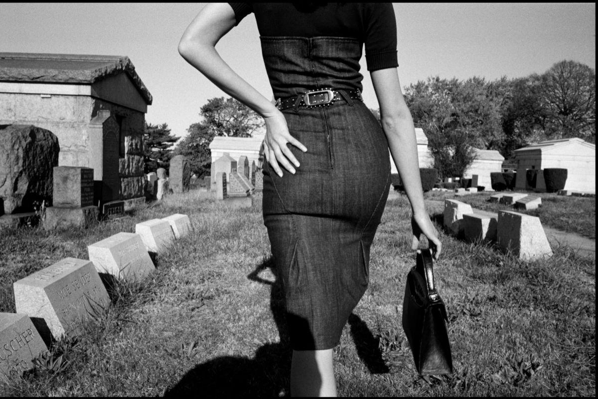 Sesión fotográfica para Funeral de la Mafia (Queens, Nueva York, EEUU, 2005)