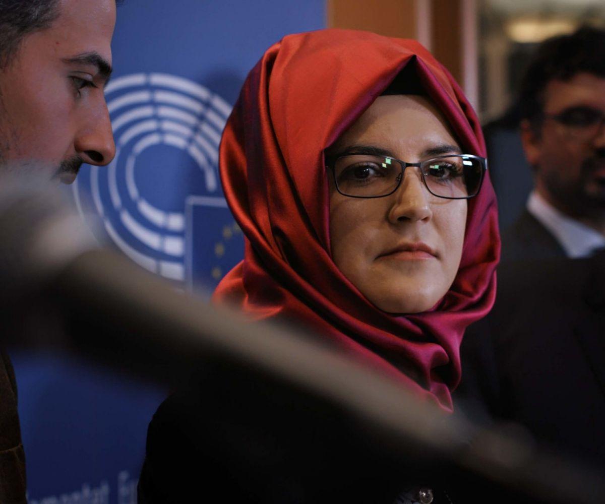 Hatice Cengiz era la prometida del periodista asesinado.
