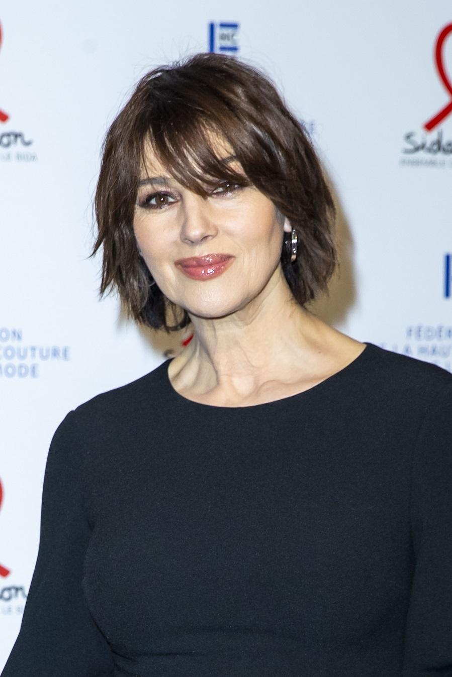 Los cortes de pelo más buscados de la primavera - Shag cortito de Monica Bellucci