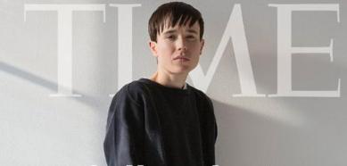 Elliot Page, en la portada