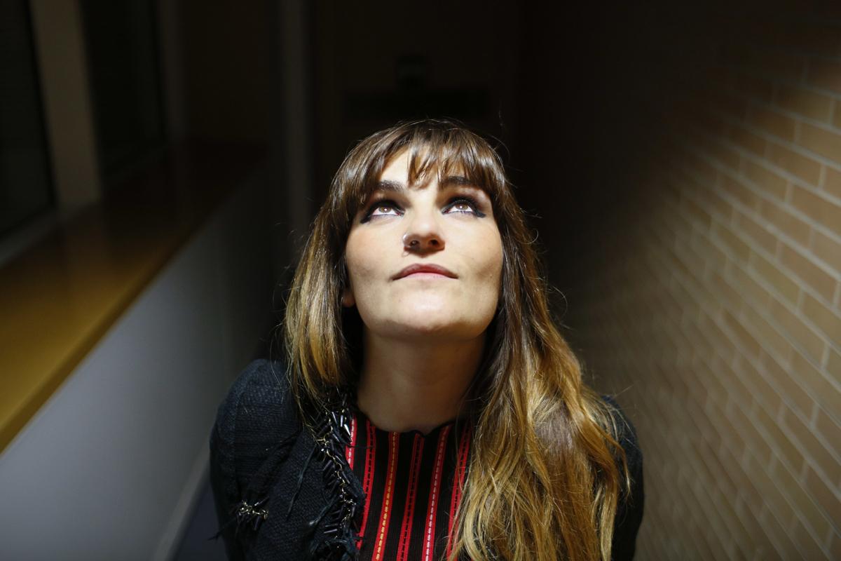 La cantante Rozalén.