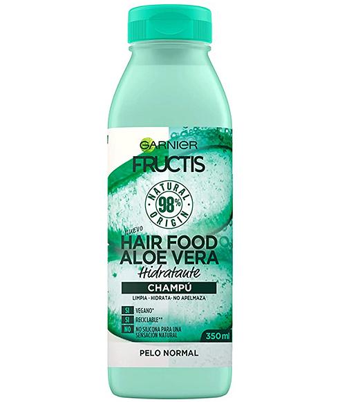 Fructis Hair Food Champú de Aloe Vera, de Garnier
