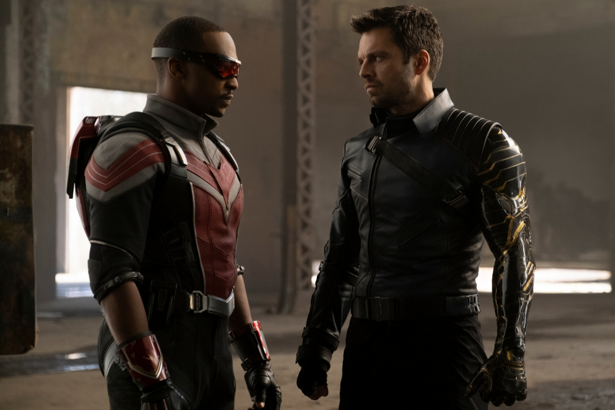 Falcon (Anthony Mackie) y el Soldado de Invierno (Sebastian Stan).