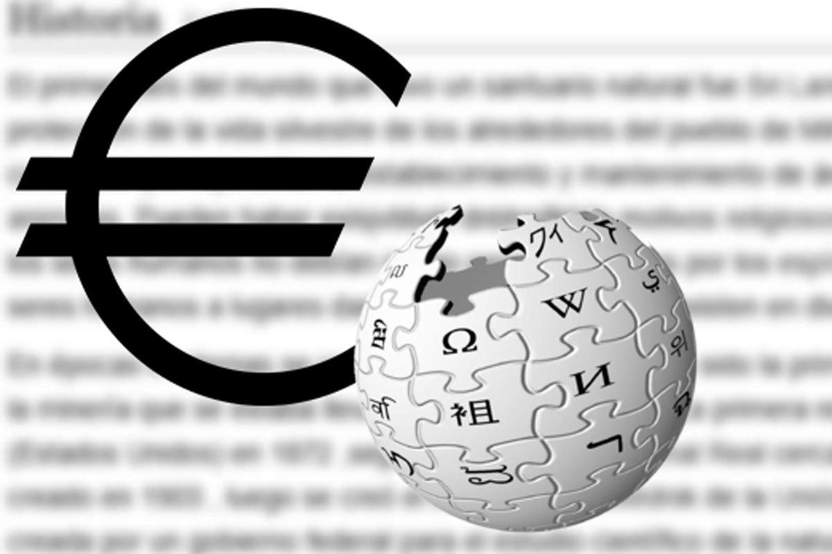 Wikipedia, la enciclopedia más popular del mundo, se adentra en el mundo del pago