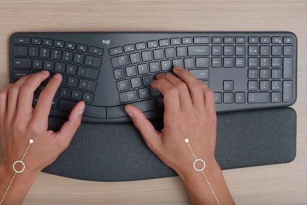 Teclados y ratones para que no te duelan las manos en la oficina
