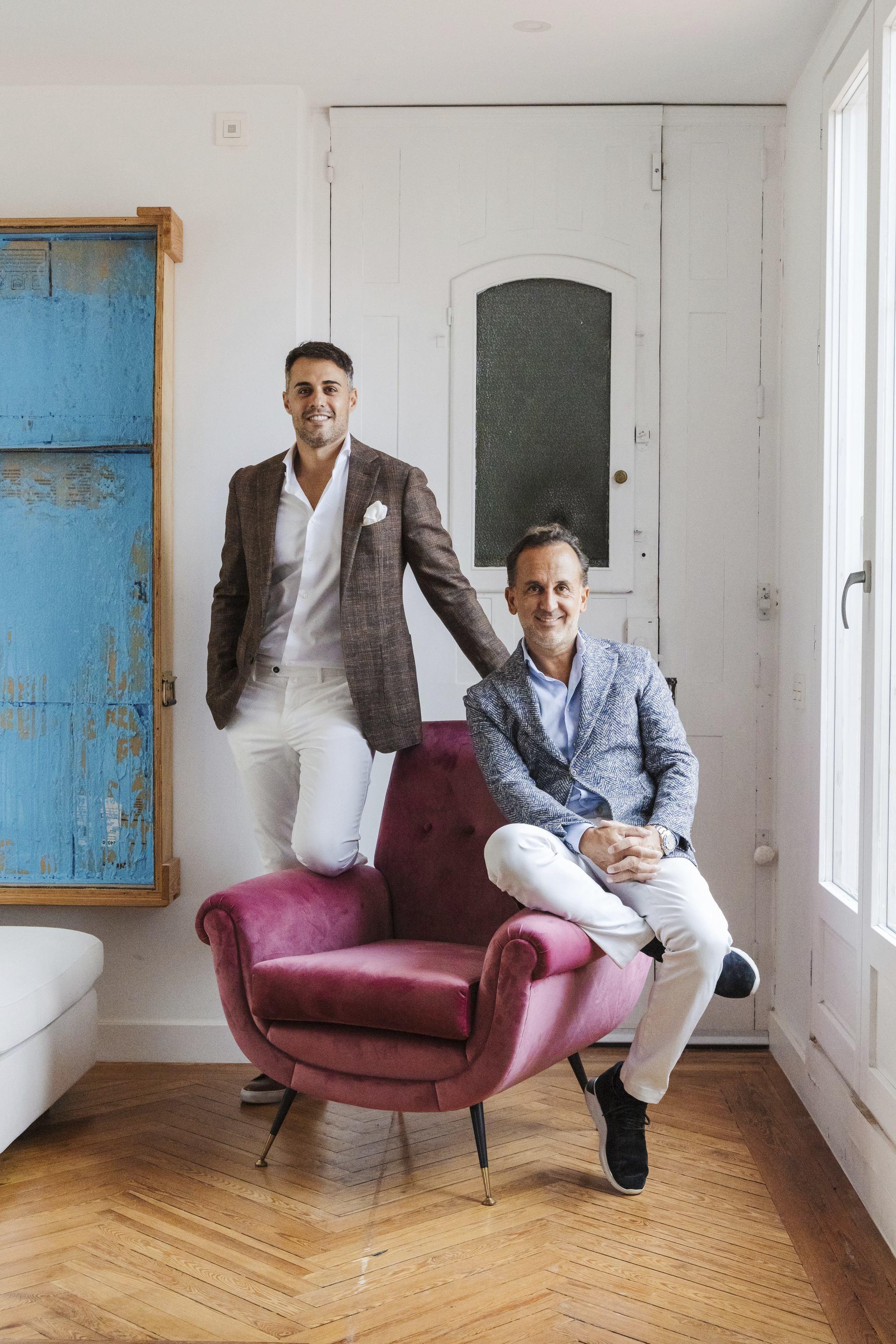 Marino Cid y Juan Alfaro