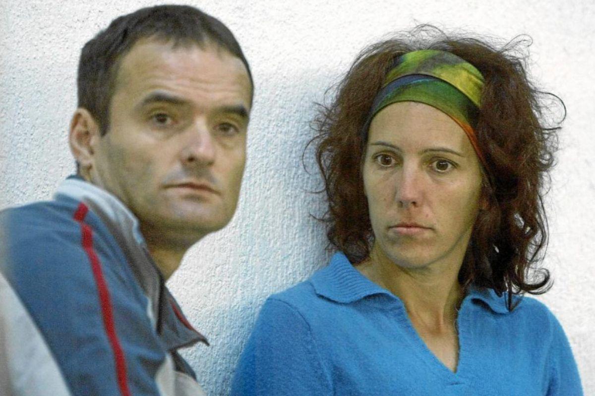 Juan Antonio Olarra Guridi y Ainhoa Múgica Goñi, durante el juicio en la Audiencia.