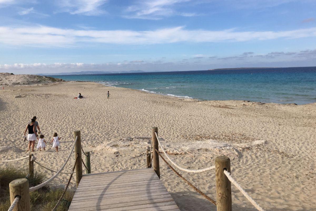 Playa en Es Trucadors.
