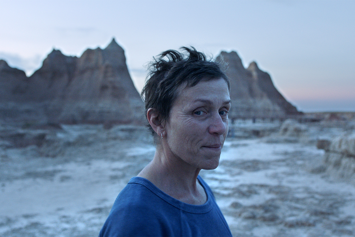 Frances McDormand en 'Nomadland'.