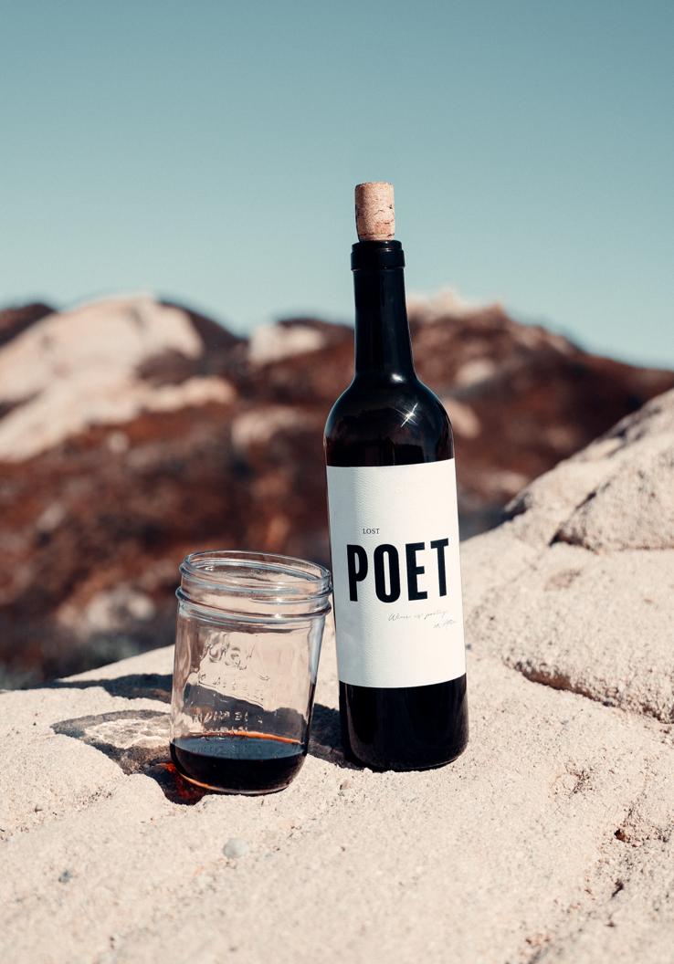 Lost Poet, el vino de Atticus en colaboración con Winc.