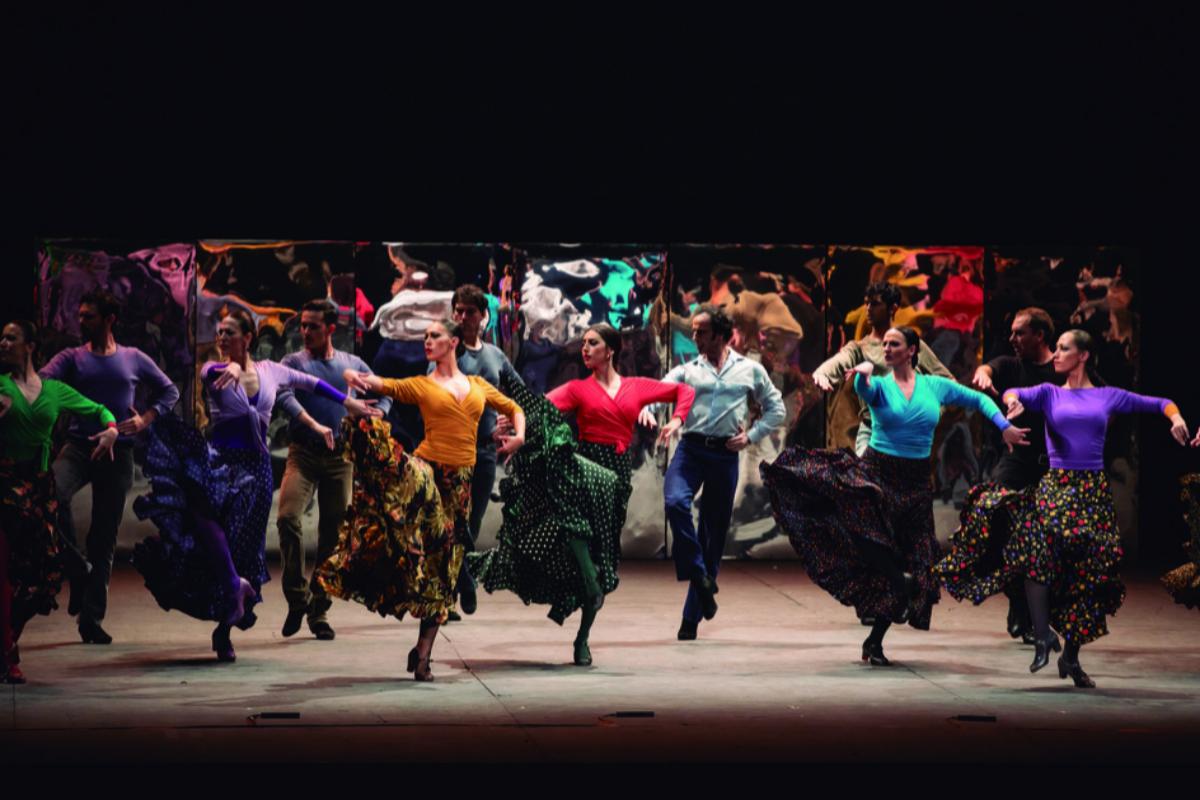 El espectáculo se estrenó en 1983 en el Teatro de París.