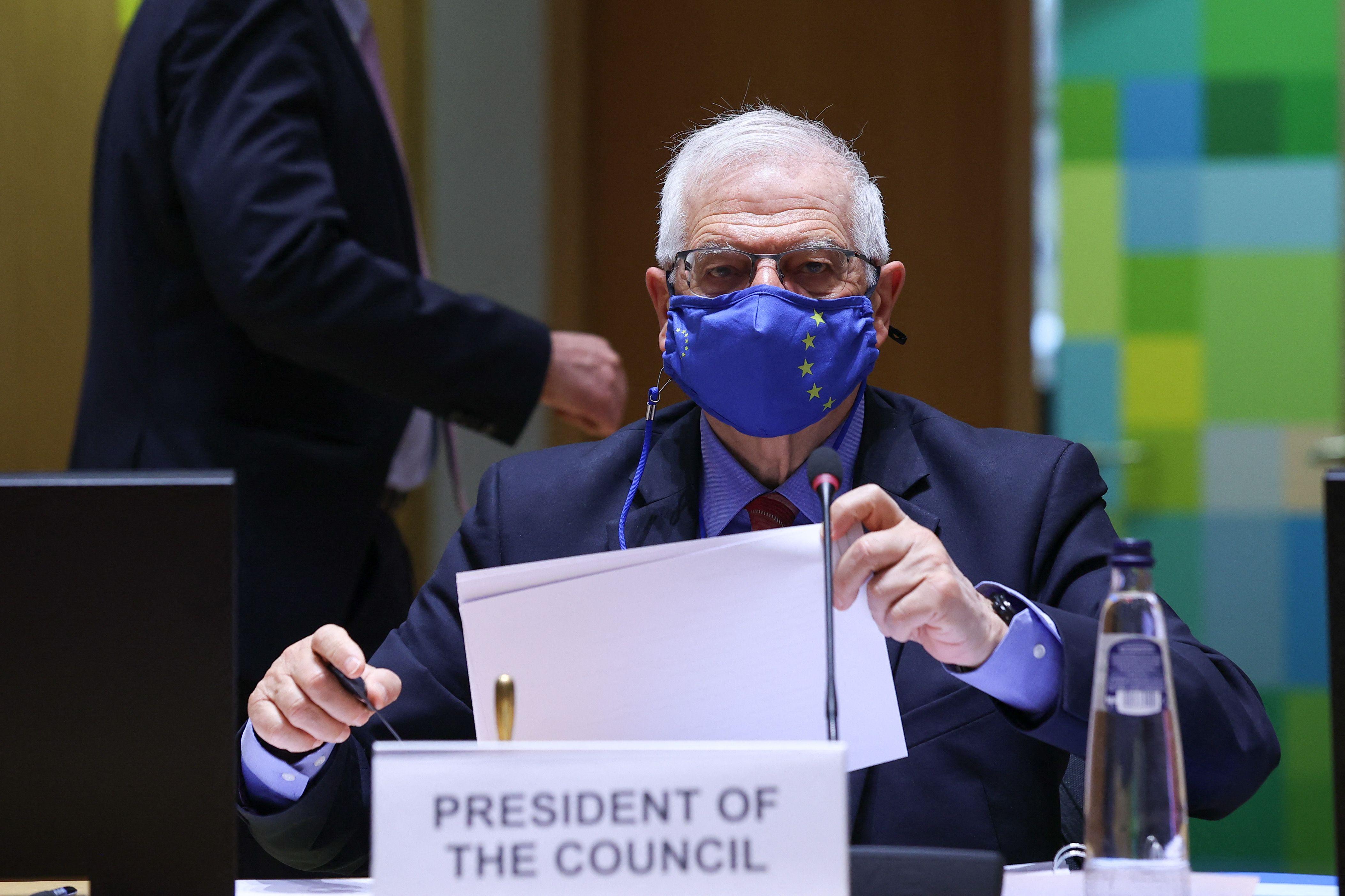 El alto responsable para la Política Exterior de la Unión Europea, Josep Borrell.