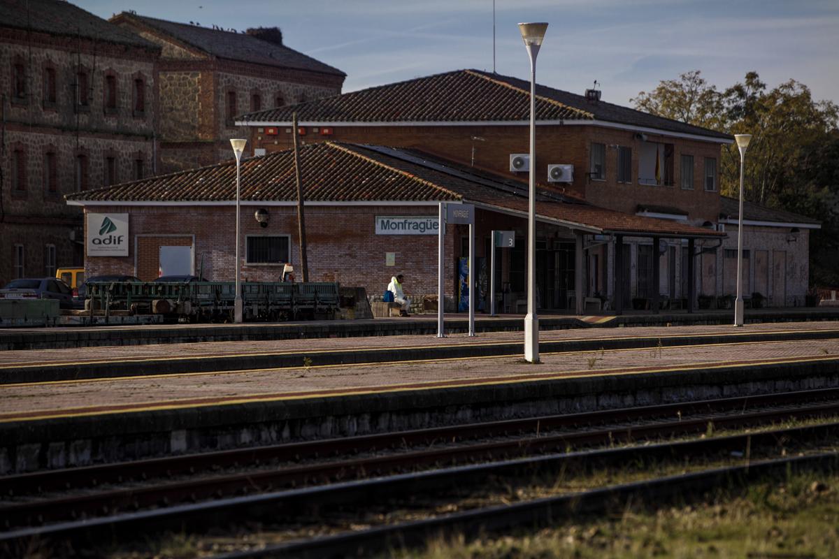 La estacion de Monfrague.