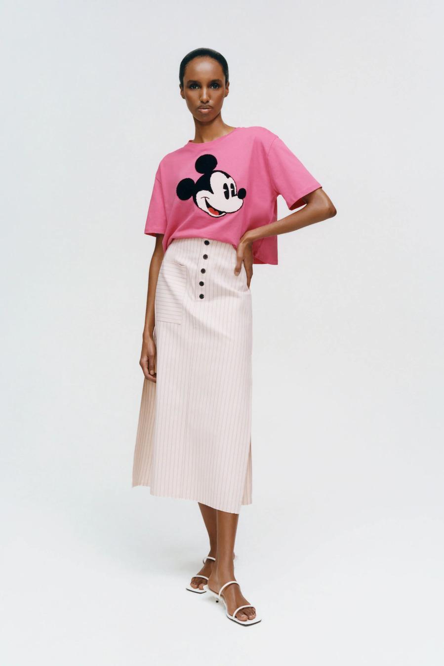 Rosa de verano - Las mejores prendas y accesorios para las fans de Mickey Mouse
